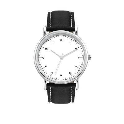 Unisex Watch 38mm Unisex Leather Strap