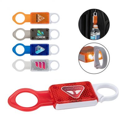 Pixie 4-in-1 Reflective Bottle Holder w/ Carabiner