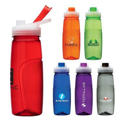 Zion 25 oz. PET Water Bottle