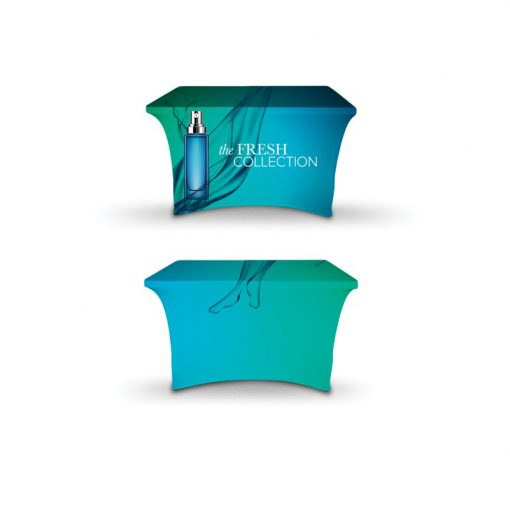 DisplaySplash 4' Stretch Table Cover