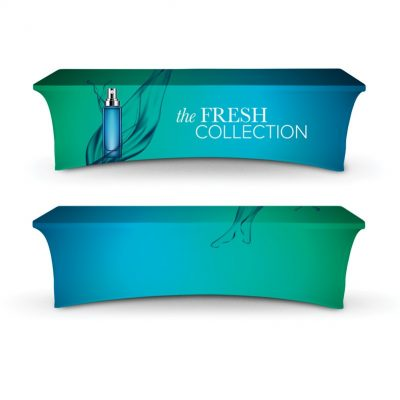 DisplaySplash 8' Stretch Table Cover