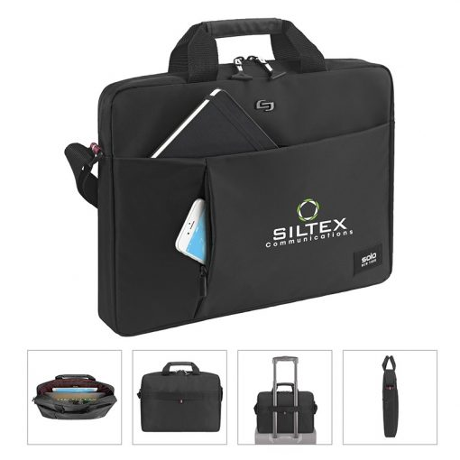 Solo Lead Slim Briefcase