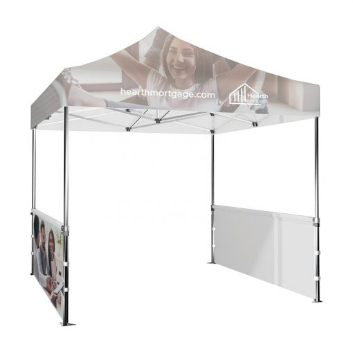 DisplaySplash 10' x 3' Single-Sided Tent Wall