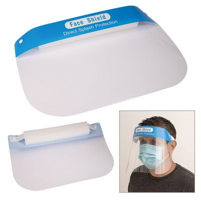 Maximus Clear Plastic Face Shield