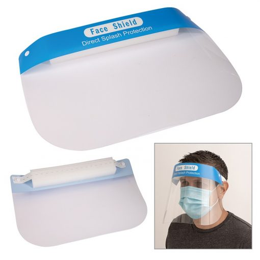 Maximus Clear Plastic Face Shield