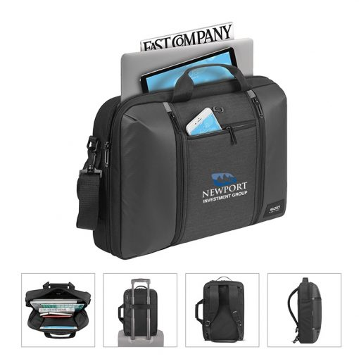 Solo Highpass Hybrid Briefcase Backpack