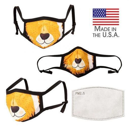 Border II Adjustable 3-Layer Mask-L/XL