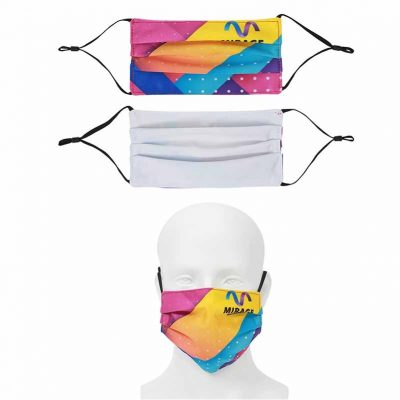 DisplaySplash 2-Ply Adjustable Fabric Mask