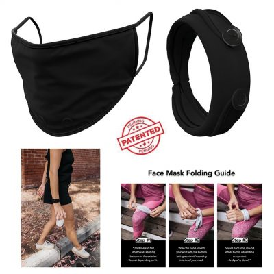 Handy Band 3-Layer Cotton Blend Face Mask