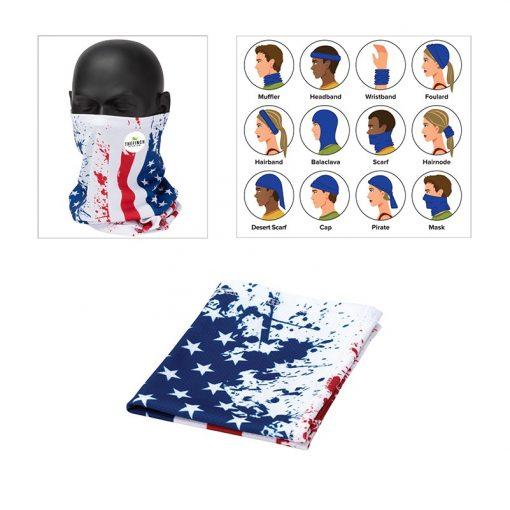 Cub Multi-Function USA Flag Gaiter/Wrap
