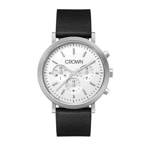 Wc1024 40mm Steel Matte Silver Case
