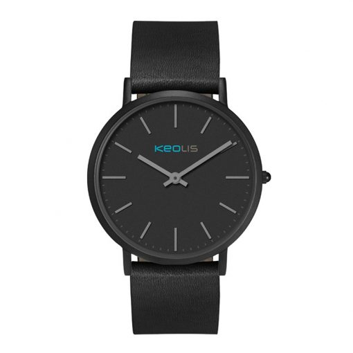 Wc1612 40mm Slim Steel Black Case