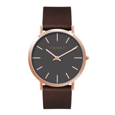 Wc1614 40mm Slim Steel Rose Gold Case