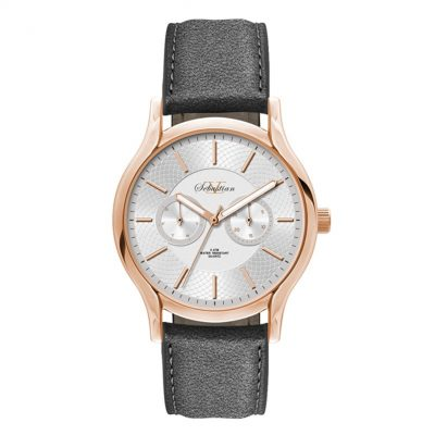 Wc1812 39mm Metal Rose Gold Case