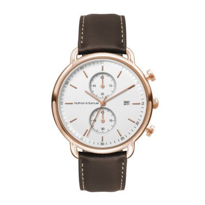 Wc3312 42mm Steel Rose Gold Case