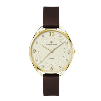 Wc3601 34mm Metal Gold Case