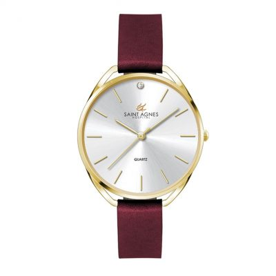 Wc3611 34mm Metal Gold Case