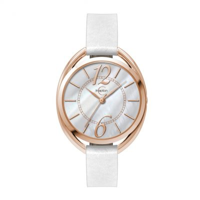 Wc3615 36mm Metal Oval Rose Gold Case