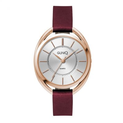 Wc3619 36mm Metal Oval Rose Gold Case