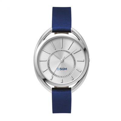 Wc3621 36mm Metal Oval Silver Case