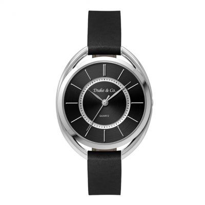 Wc3625 36mm Metal Oval Silver Case