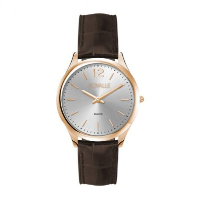 Wc4093 33mm Steel Rose Gold Case