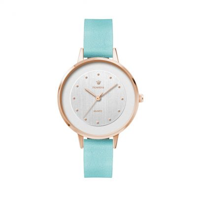 Wc6063 34mm Metal Rose Gold Case