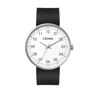 Wc6116 40mm Steel Matte Silver Case