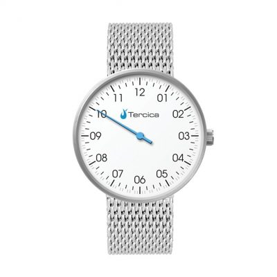 Wc6128 40mm Steel Matte Silver Case