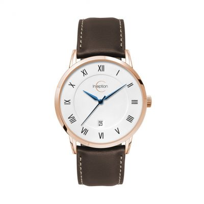 Wc8126 39mm Steel Rose Gold Case