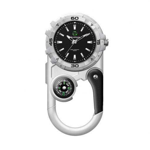 Wc8221 41mm Metal Matte Silver Pocket Watch
