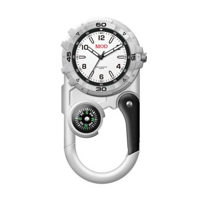 Wc8223 41mm Metal Matte Silver Pocket Watch