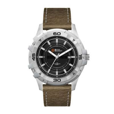 Wc8784 45mm Metal Matte Silver Case