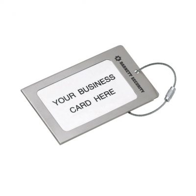 Navigor Series Steel Luggage Tag