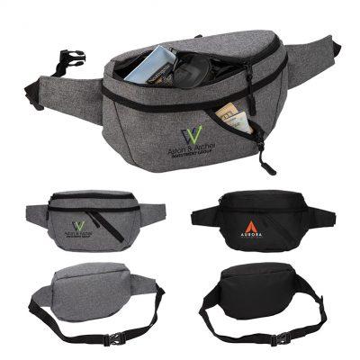 Ontario Two-Pocket Crossbody / Waist Bag
