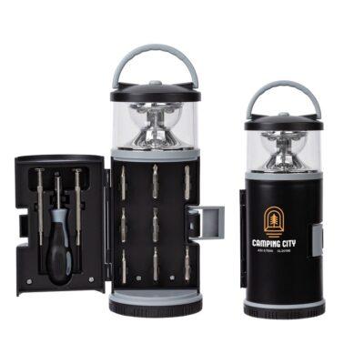 Archard LED Lantern with 11 pc. Tool Kit