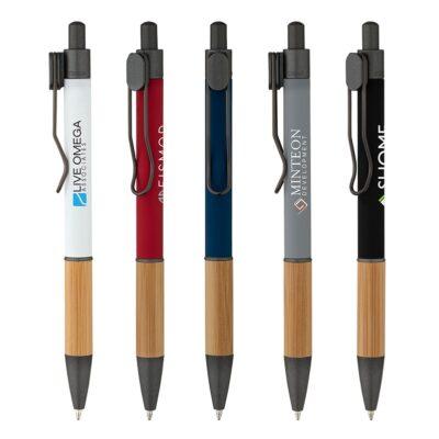 Manoa Ballpoint Pen w/Bamboo Grip