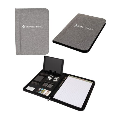 Sterling RPET Zippered Letter Size Padfolio