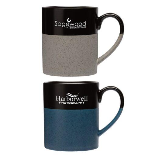 Arabica 15 oz. Two-Tone Ceramic Mug